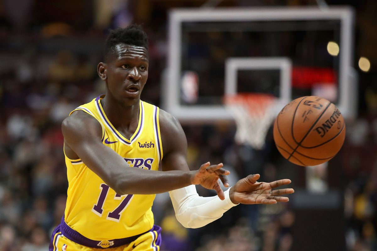 39353e1a7 Isaac Bonga staying patient as Lakers develop him - Silver Screen ...