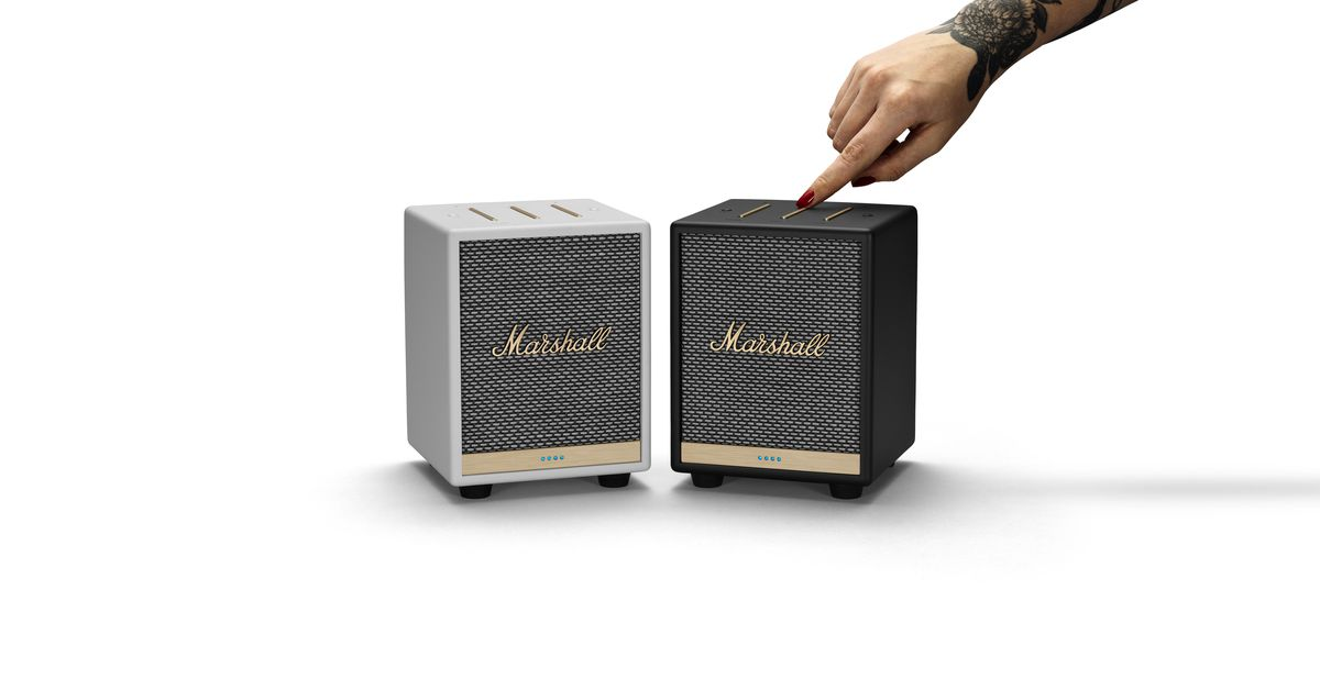 Marshall's new Uxbridge speaker features AirPlay 2 and Alexa voice support