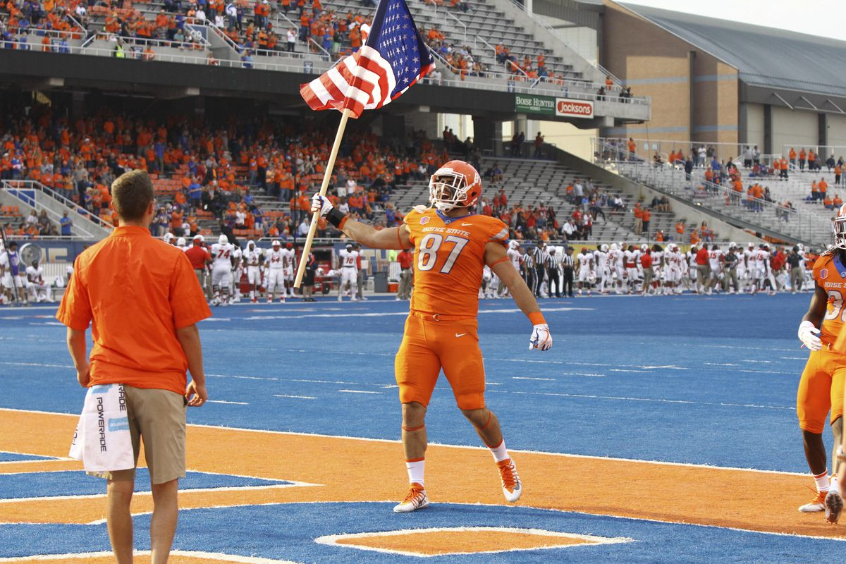 NCAA Football: New Mexico at Boise State