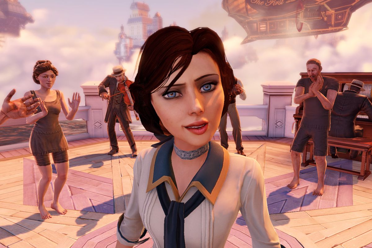elizabeth the heroine and driving narrative force of irrational games bioshock infinite is more than just the sum of her parts