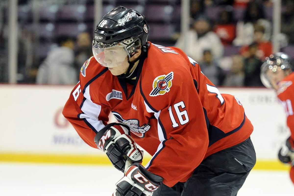 Kerby Rychel is looking to make an impression for the Jackets at the Traverse City Prospect Tournament.