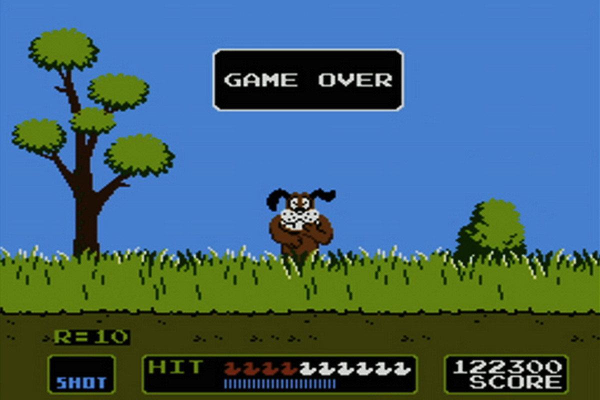 NES classic Duck Hunt is coming to the Wii U on Christmas