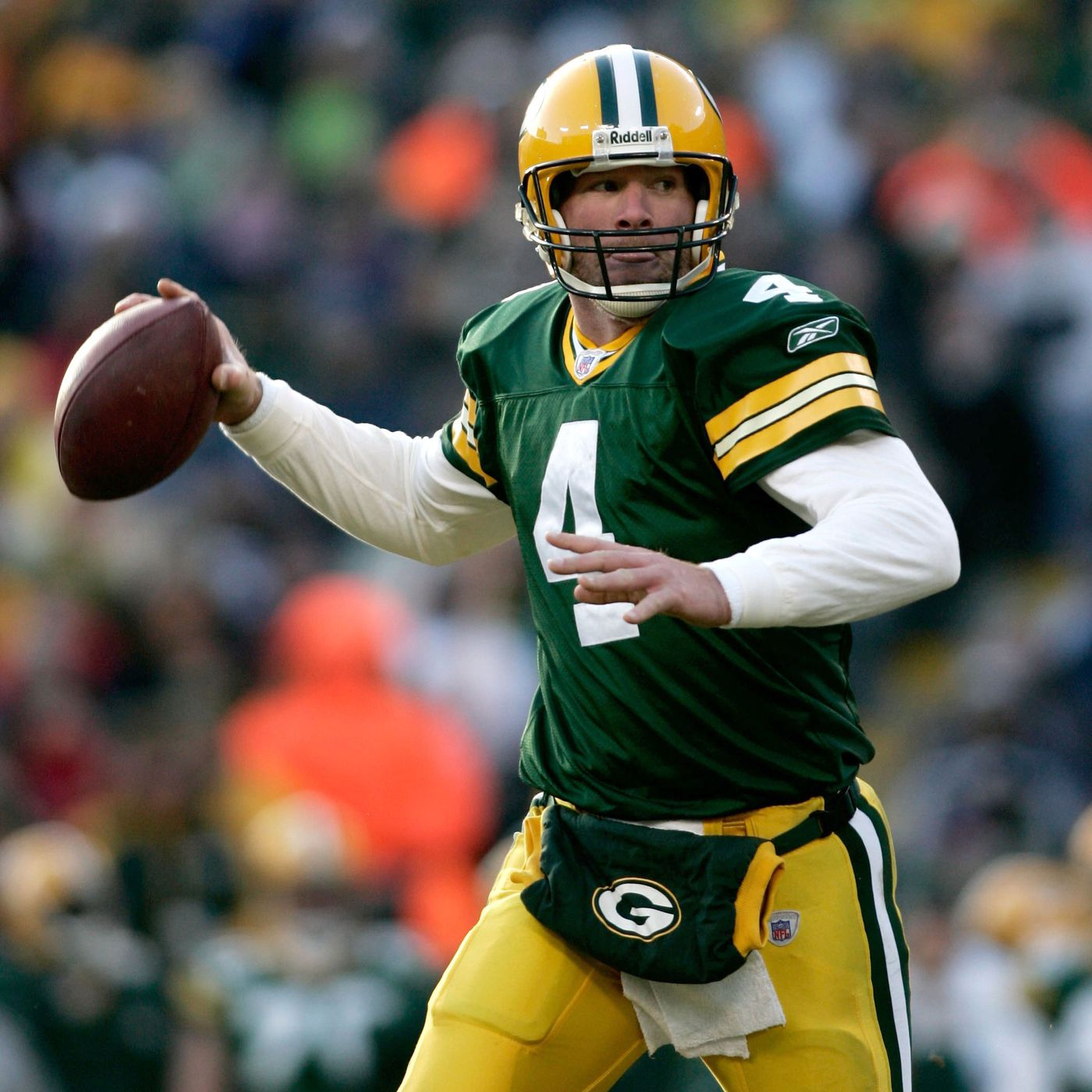 separation shoes 19fac e43dc Looking back at Brett Favre's good, bad, and obscure NFL ...