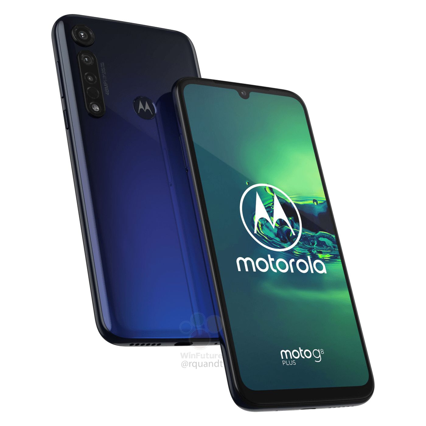 Motorola's Moto G8 Plus leaks with triple rear cameras and a 4,000