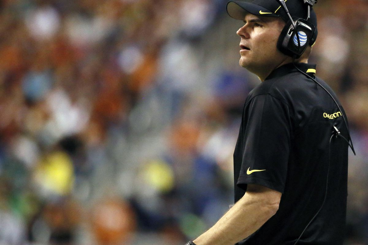 Mark Helfrich is out to prove that the Ducks are still the class of the PAC 12