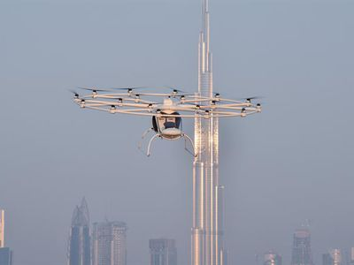 World?s first drone taxi completes maiden flight in Dubai