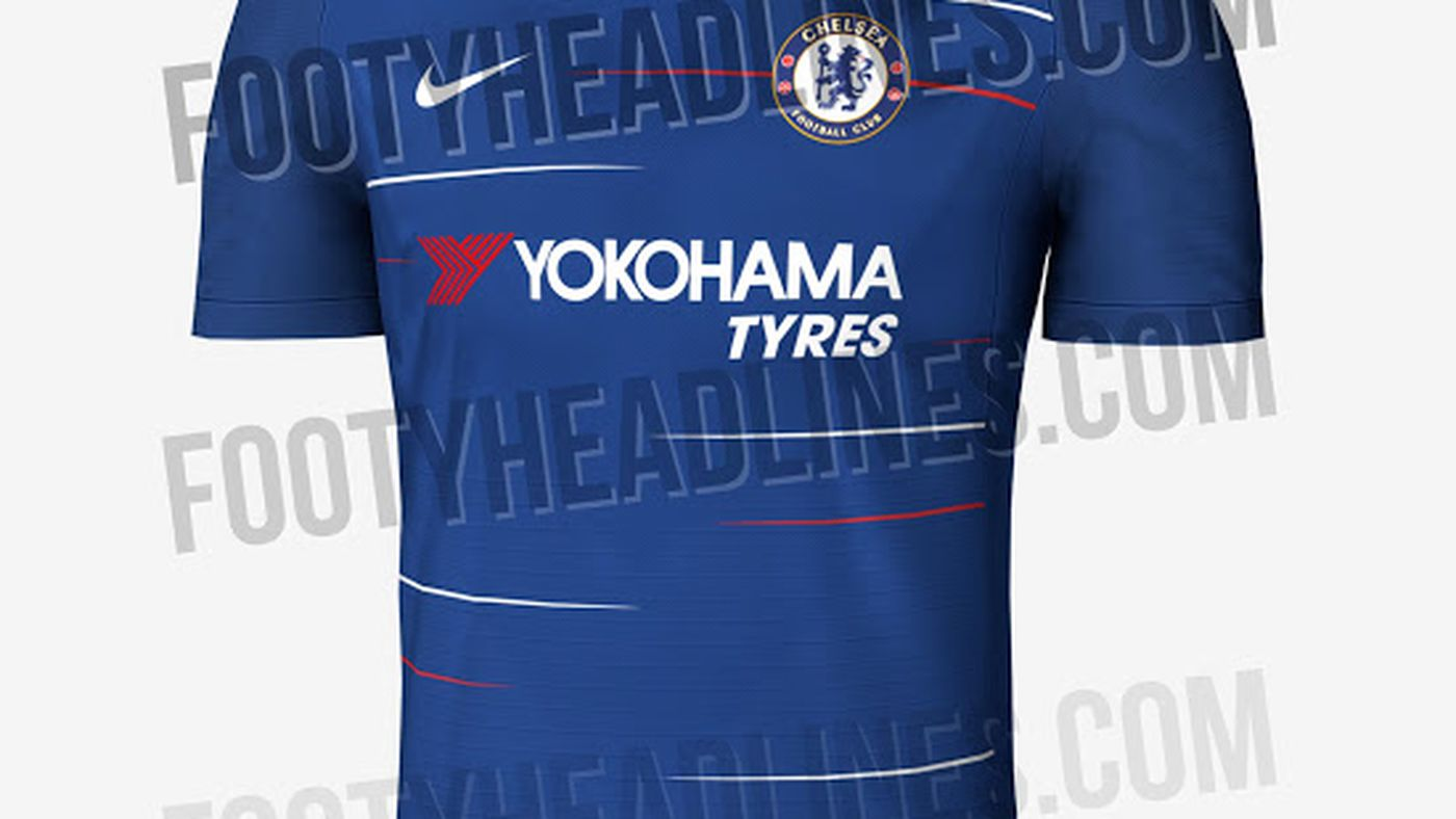 ee055dd587ab6 Chelsea 2018-19 home and away shirts leaked