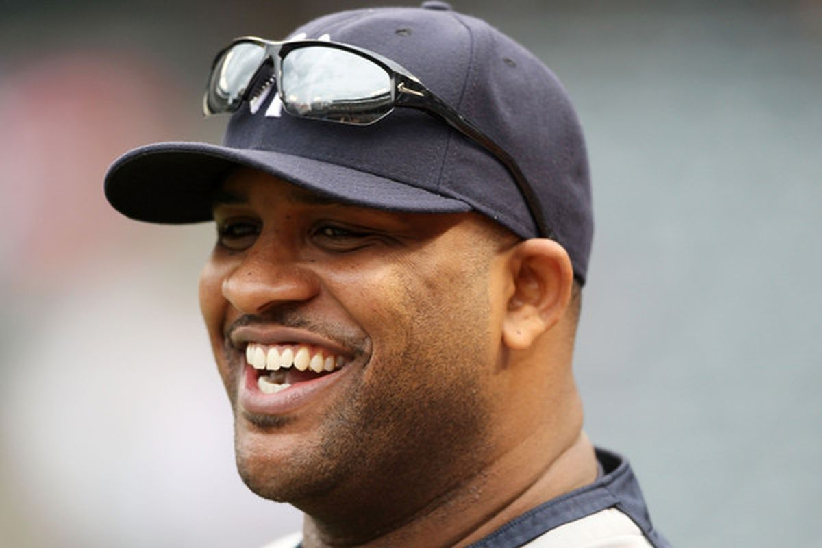 <strong>CC Sabathia</strong>.  (Photo by Elsa/Getty Images)