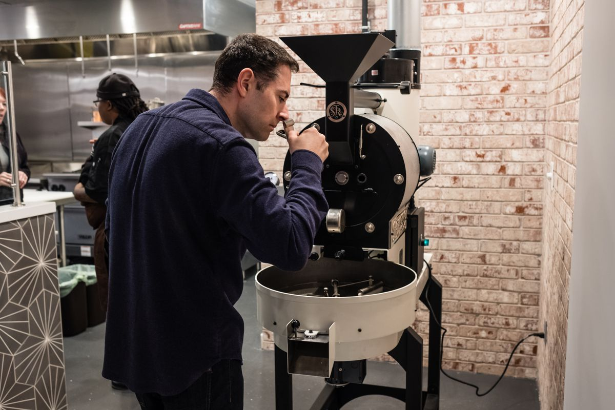 Michael Biddick plans to roast coffee every two to three days at Blend 111