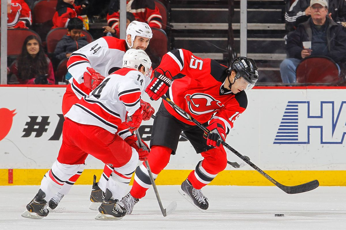 6850d03c7 Carolina Hurricanes at New Jersey Devils  Zone Exit and Passing Stats