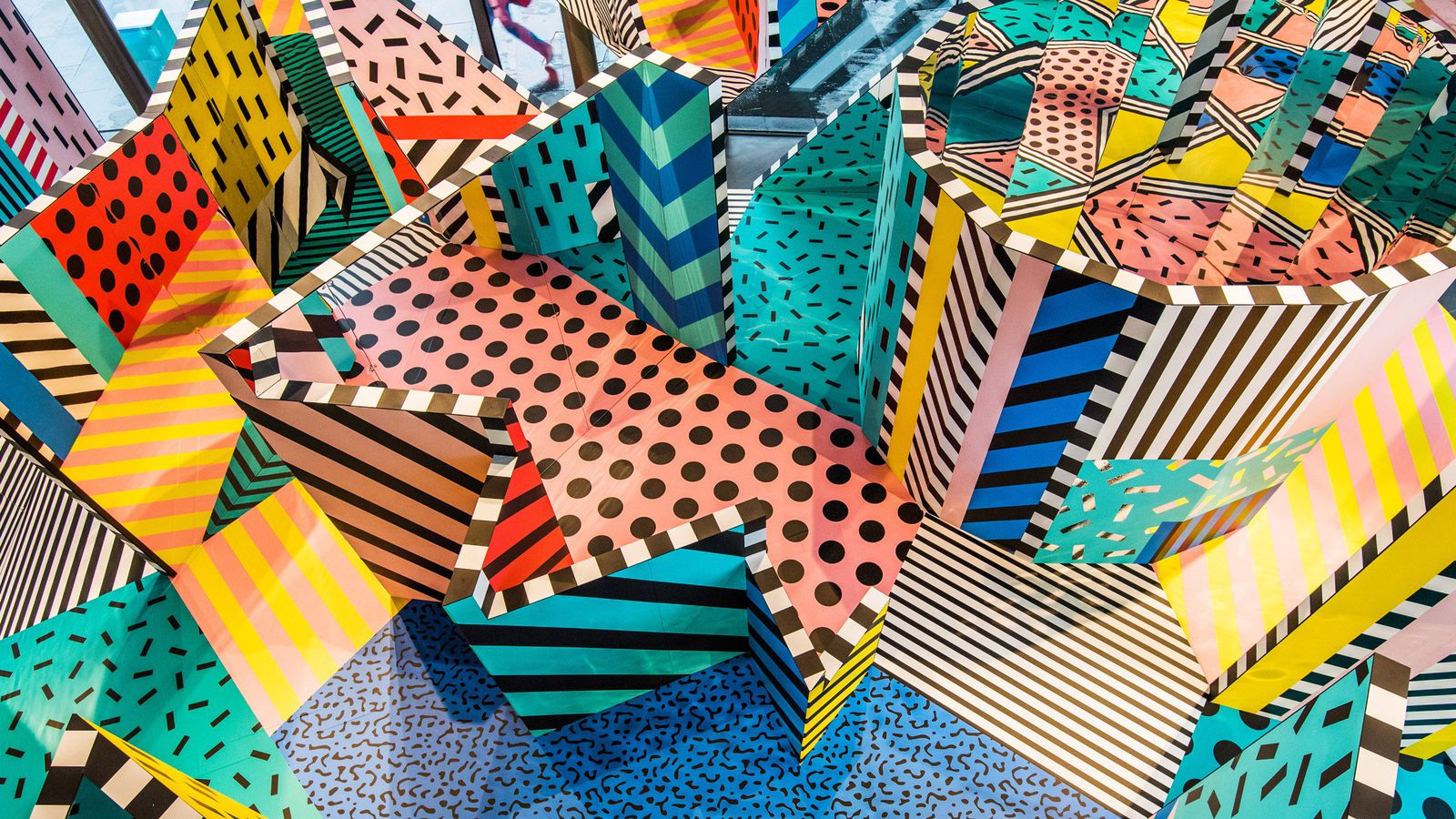 Camille Walala S Colorful New Exhibition Is A Memphis