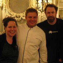 Stephanie Izard, Michael Fiorello and Cochon founder Brady Lowe