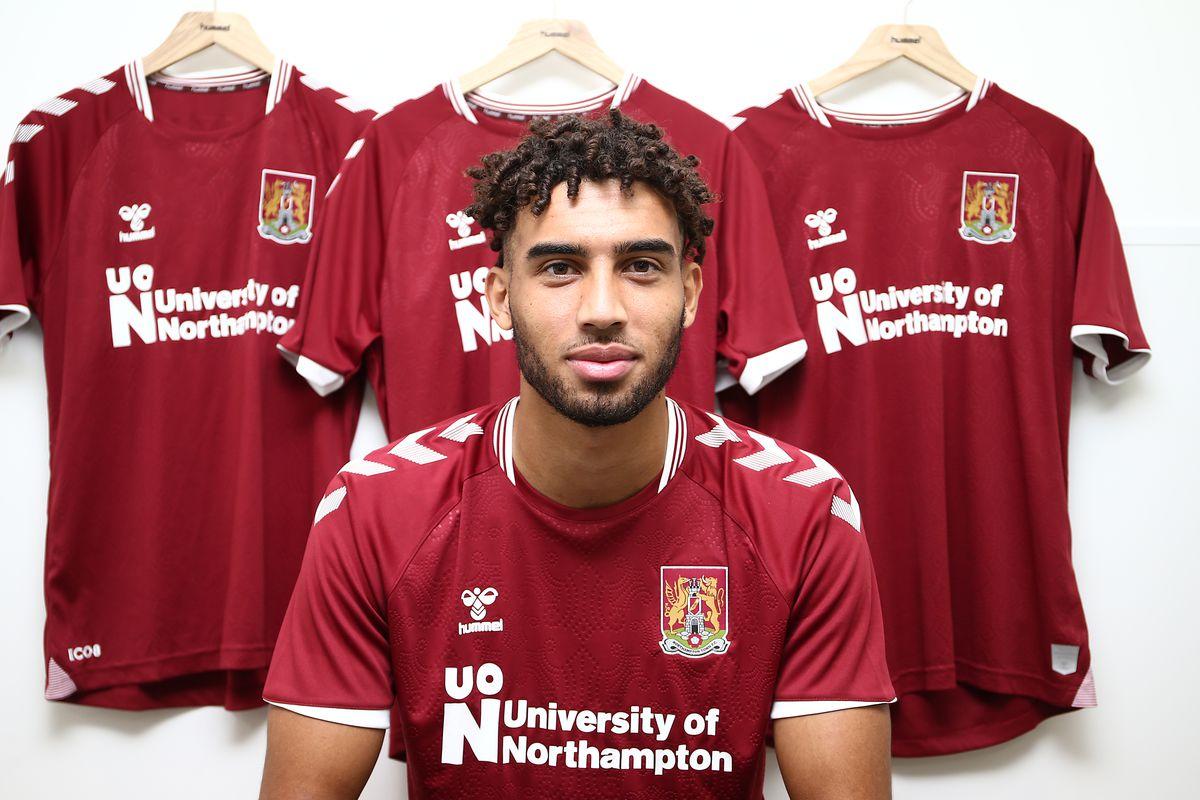 Northampton Town unveil new signing Kion Etete