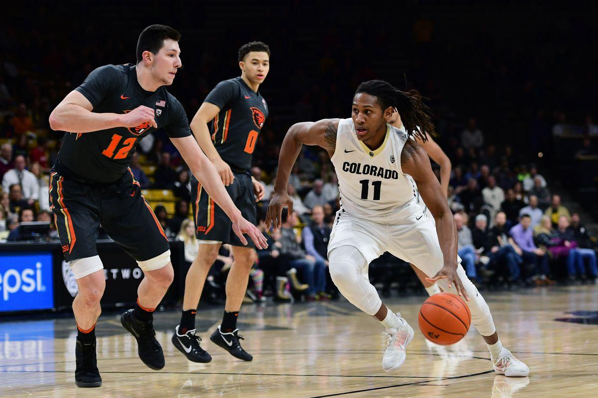 NCAA Basketball: Oregon State at Colorado
