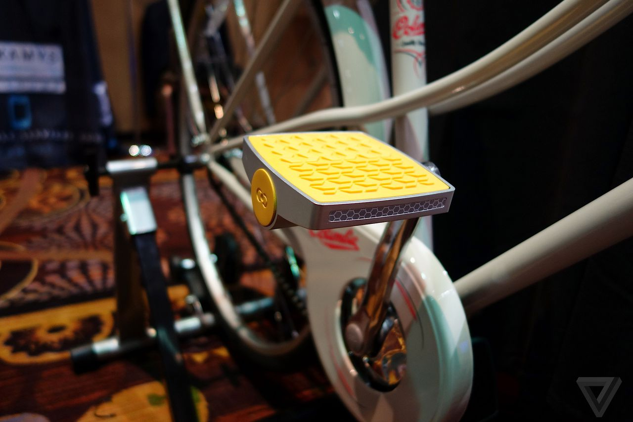 The Connected Cycle is a bike pedal that tracks your ...