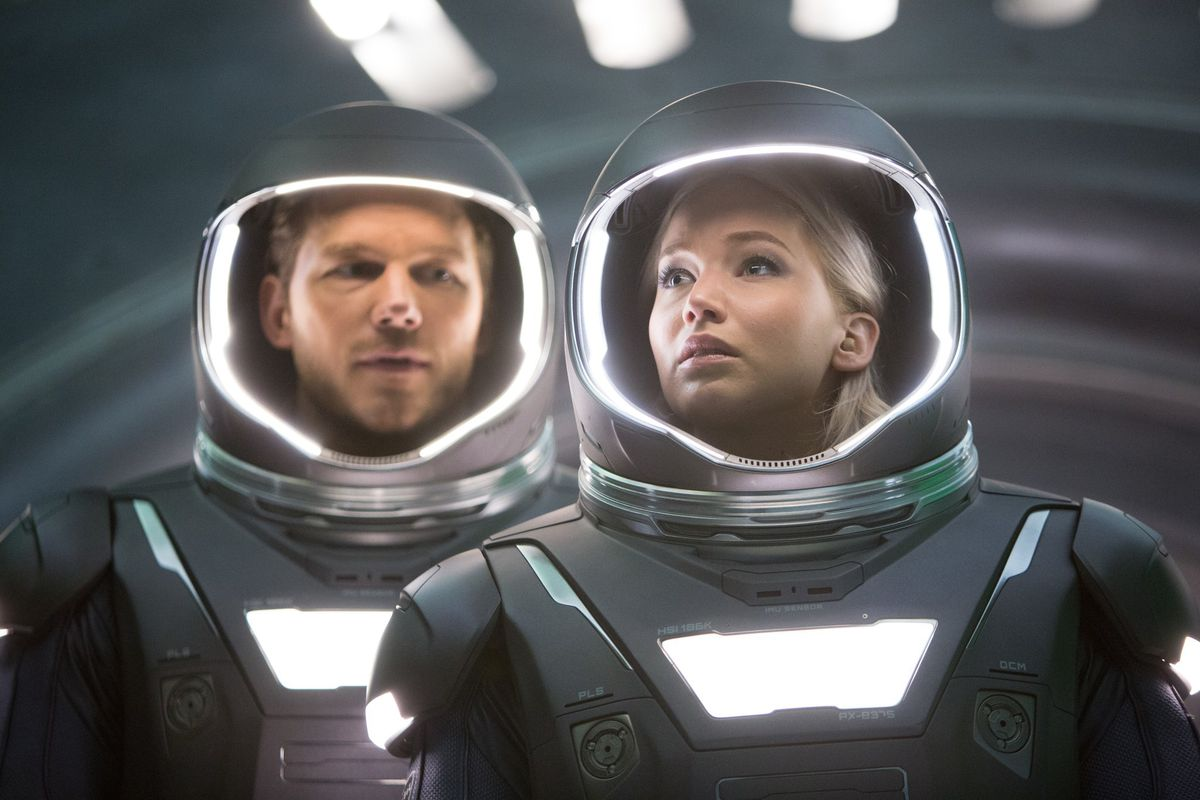 Chris Pratt And Jennifer Lawrence Star In Passengers Sony Pictures