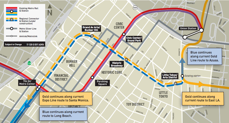 La Subway Map Year Opened.The Most Anticipated Transit Projects Opening In Time For The 2028