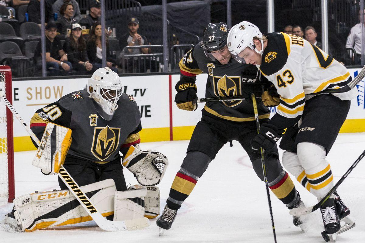 Bruins Vs Golden Knights 10 15 17 Recap Bruins Give Malcolm Subban