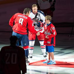 Capitals Honor 11 Year Old Cancer Survivor