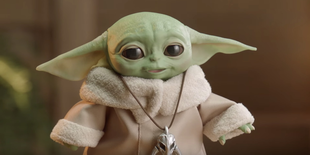 Hasbro's first look at animatronic Baby Yoda will steal your heart