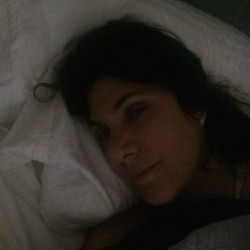 <strong>7:45am</strong> Ok. I'm getting up. I promise. Loving my bed this cool fall morning.