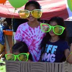 Kids participate in a variety of activities at the Salt Lake County Library Service summer reading challenge kickoff party on June 7, 2016. The 2017 summer reading challenge kickoff party will be June 2 at the Viridian Event Center in West Jordan.