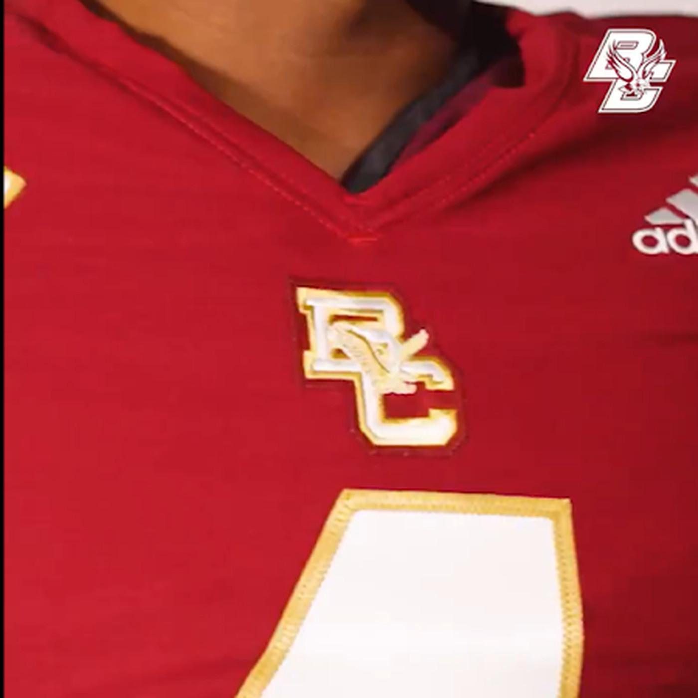 Boston College Football Premieres New Adidas Uniforms - BC ...
