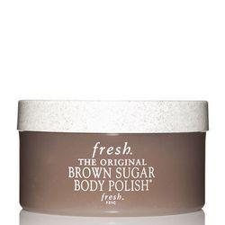 "<strong>Fresh</strong> Brown Sugar Body Polish, <a href=""http://www.fresh.com/bodycare/brown-sugar/brown-sugar-body-polish-7oz"">$38</a>"