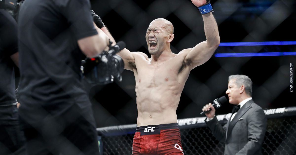 Unbeaten Alexey Kunchenko returns against Yushin Okami at UFC Adelaide