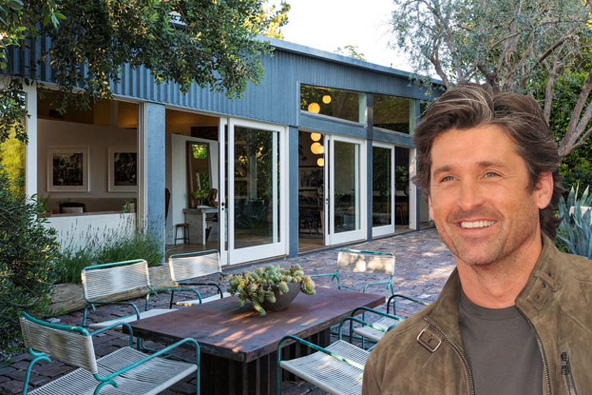 Patrick Dempsey Selling His Metal-Clad Frank Gehry House ...