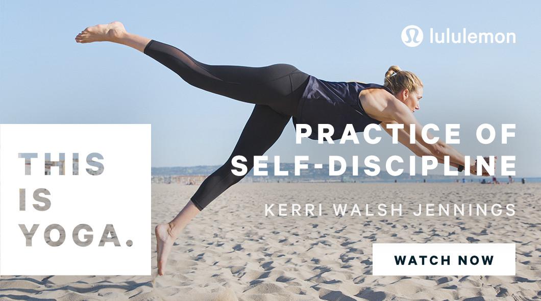 Kerri Walsh Jennings in Lululemon's new ad.