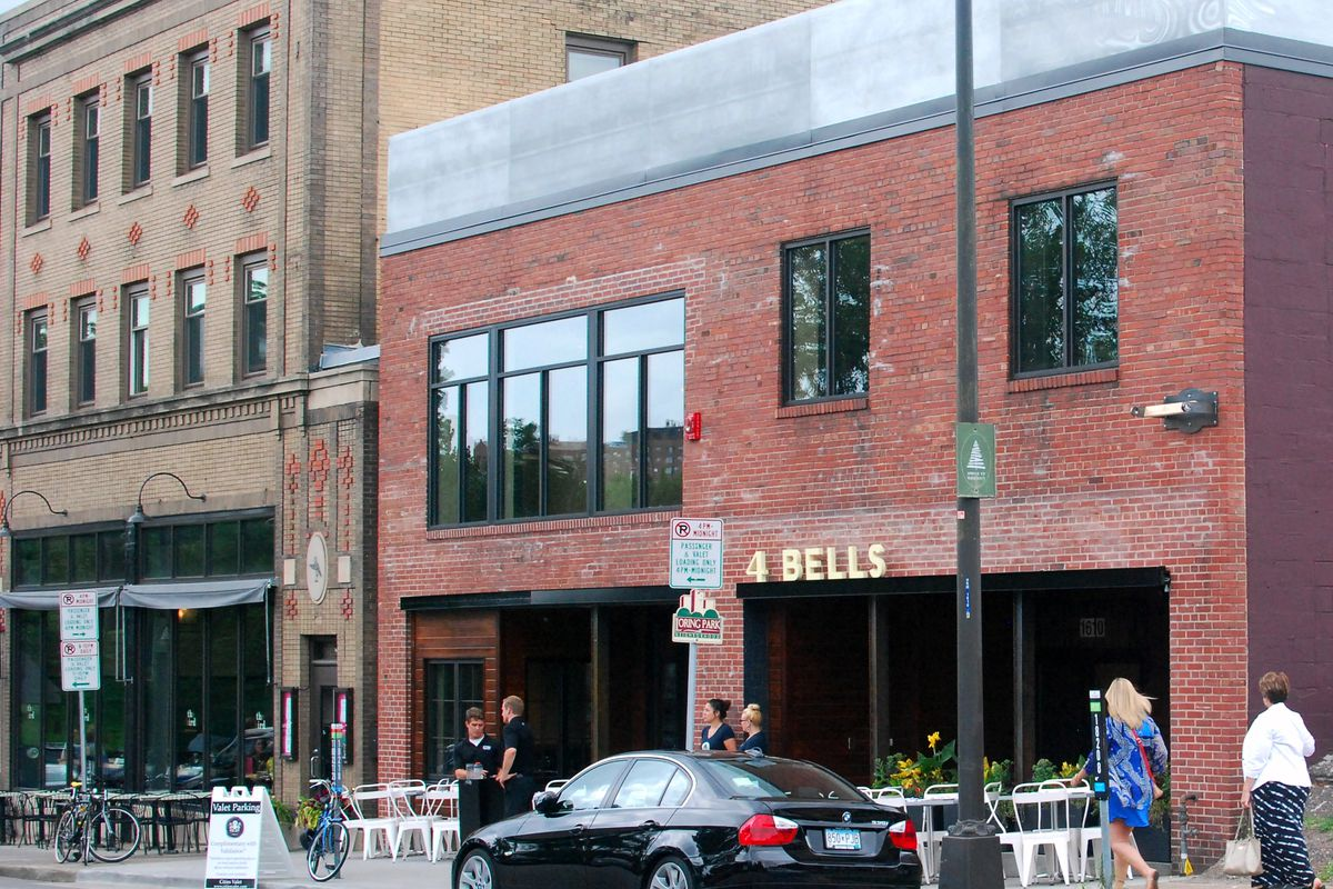 The exterior of 4 Bells