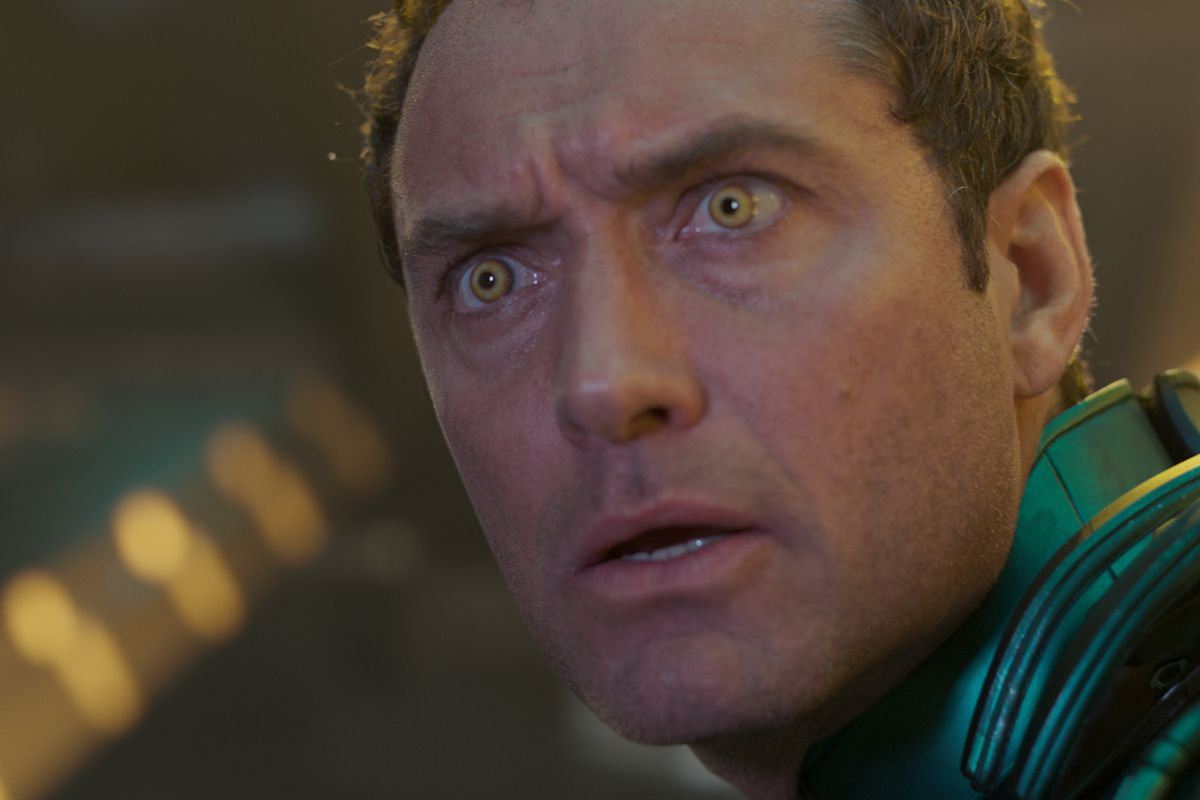 Jude Law/Yon-Rogg in Captain Marvel.