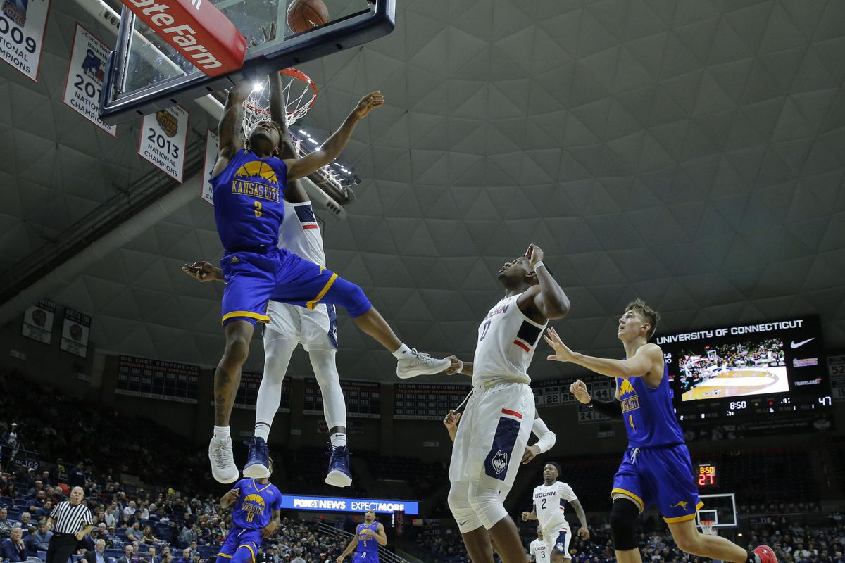 NCAA Basketball: UMKC at Connecticut