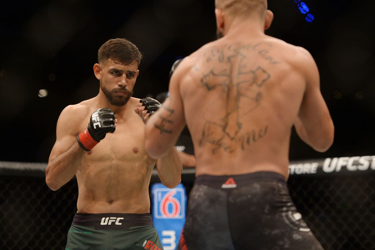 Yair Rodriguez vs. Jeremy Stephens rebooked as UFC Boston co-main event in October