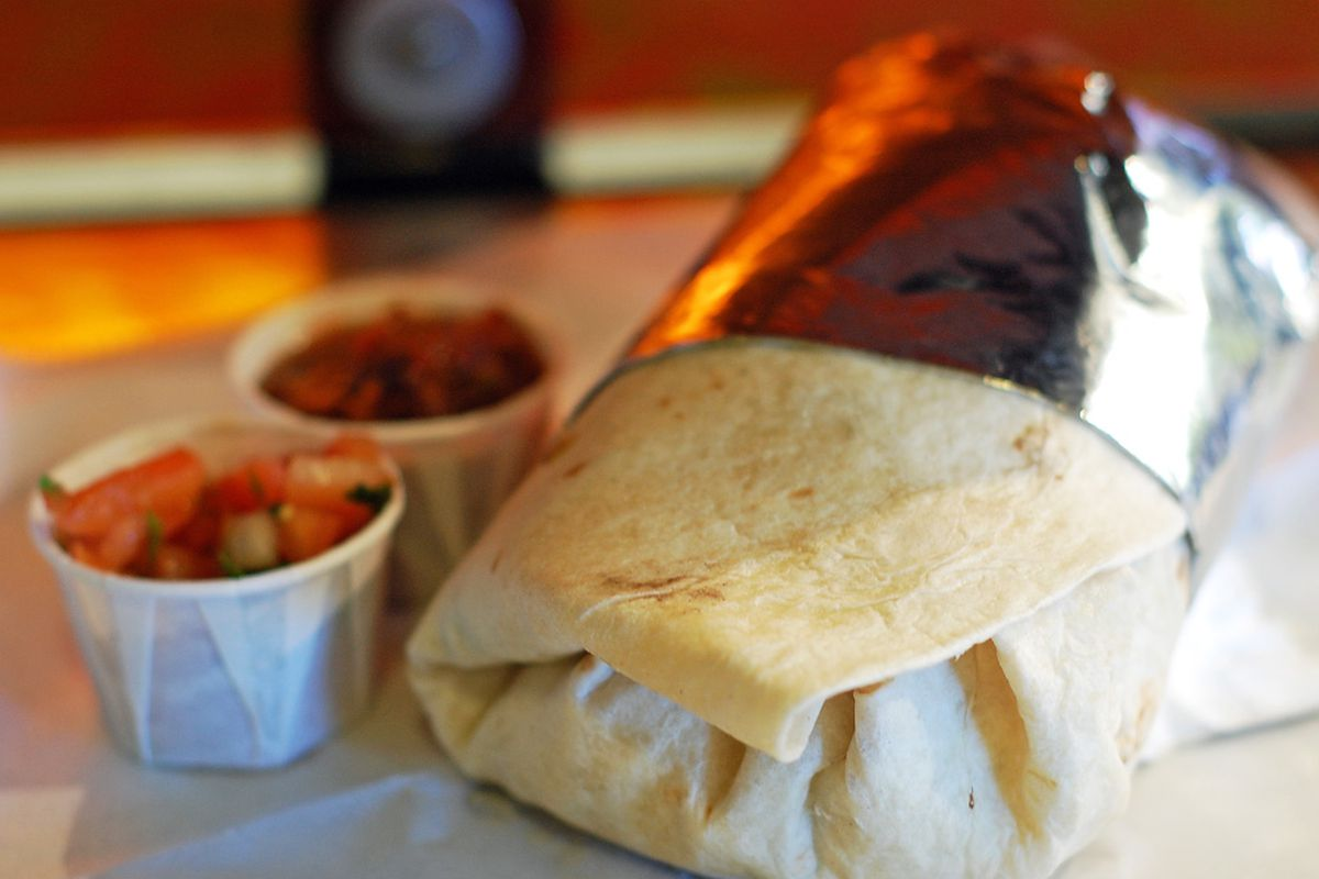 Might there be heroin stuffed inside this burrito?