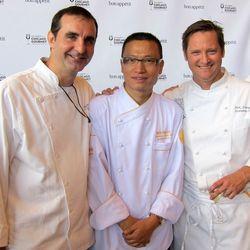 Tony Priolo, Tony Hu and Dirk Flanigan