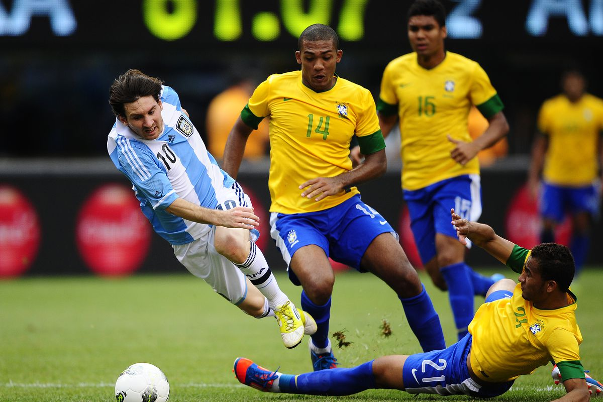 Argentinian soccer player Lionel Messi i