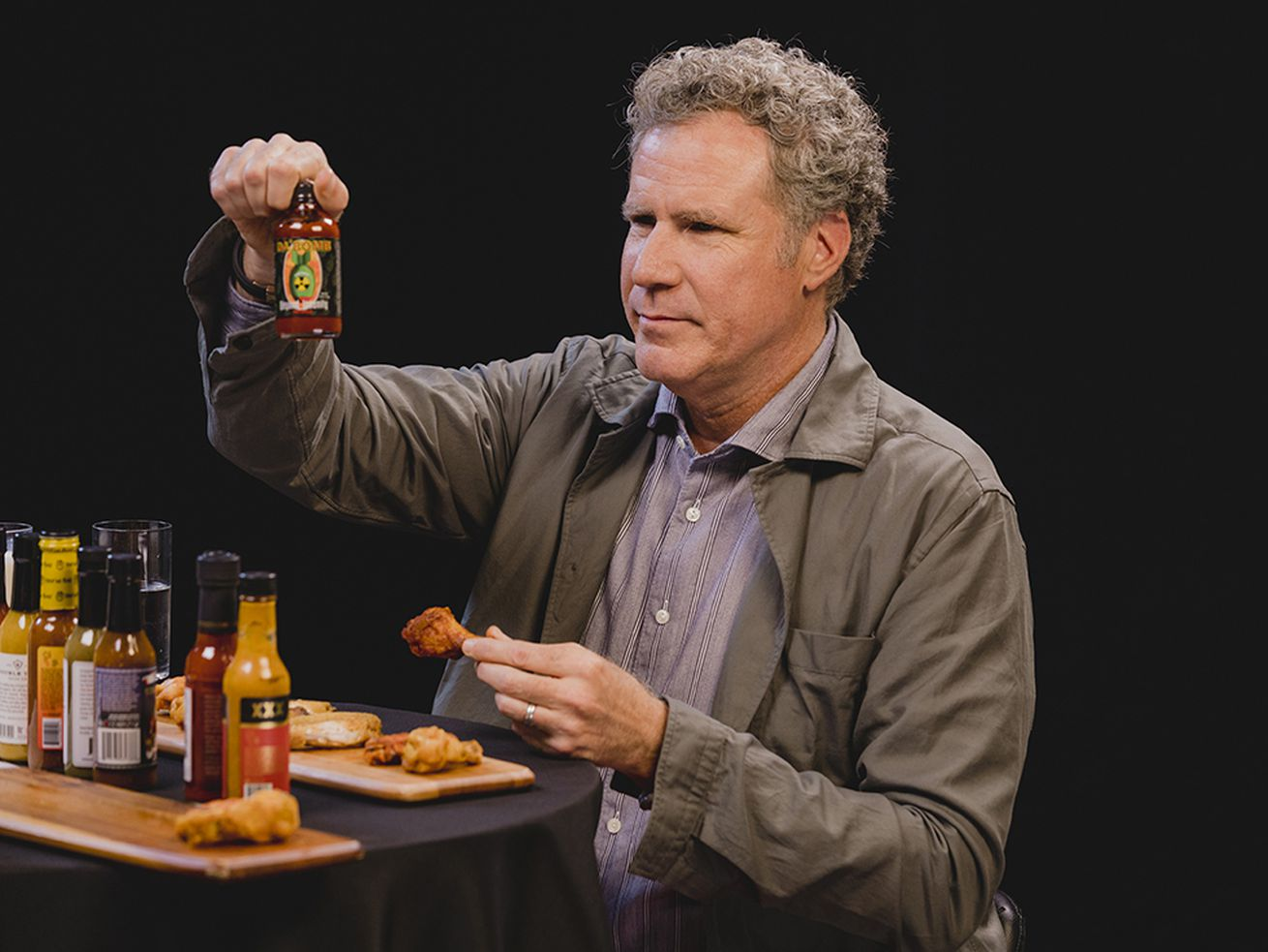 Will Ferrell Took On 'Hot Ones' And He Did His Best Ok