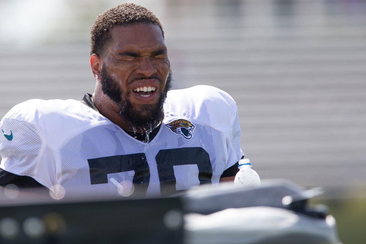 NFL: AUG 28 Jaguars Training Camp
