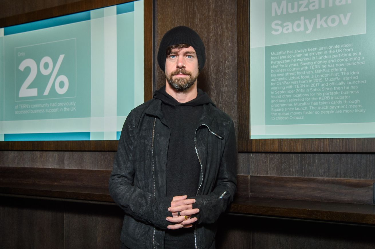 Jack Dorsey photographed during London Tech Week