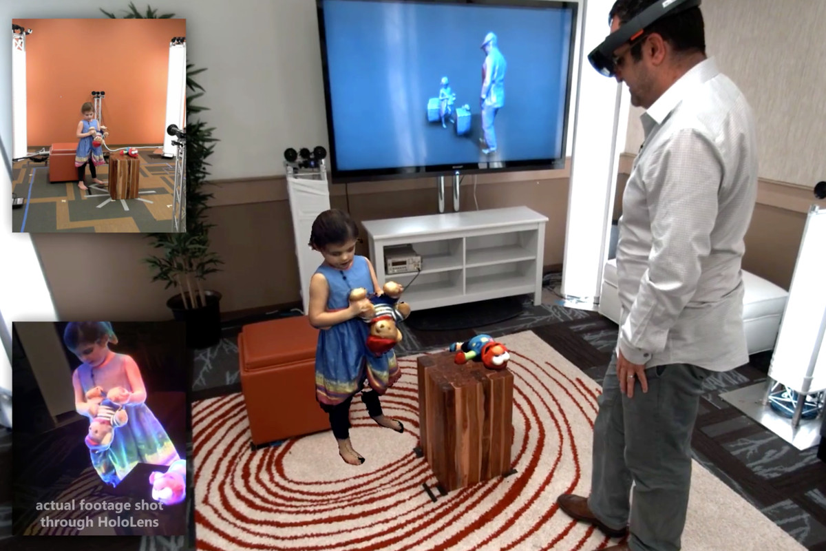Microsoft Has Created Star Wars Style Holographic