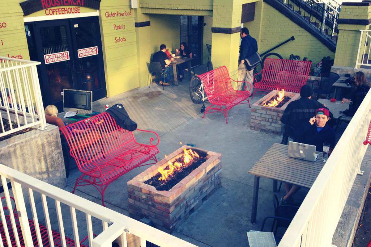 Original Roostercat Coffee Location