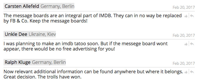 "<em>via </em><a href=""https://www.ipetitions.com/petition/petition-to-keep-the-imdb-messageboards-going""><em>iPetitions</em></a>"
