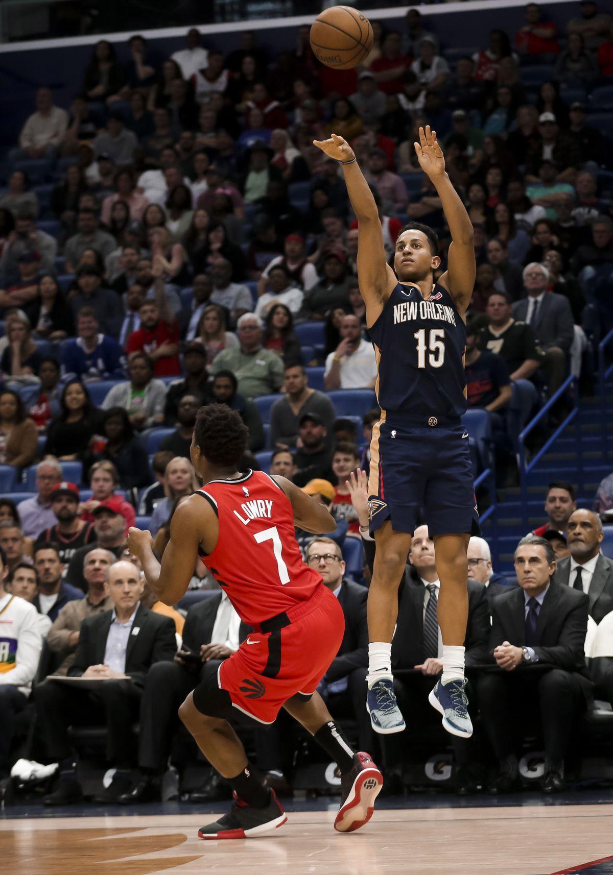 NBA: Toronto Raptors at New Orleans Pelicans