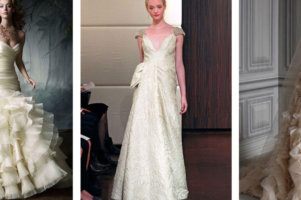 "Image via <a href=""http://carinesbridal.wordpress.com/2014/01/24/bridal-sample-sale-january-29-30/"">Carine's Bridal Atelier</a>"