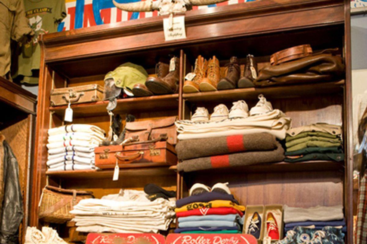 """Inside Eleven via <a href=""""http://www.gq.com/style/best-stores-in-america/201004/best-vintage-stores-shopping-in-america#intro"""">GQ</a>"""