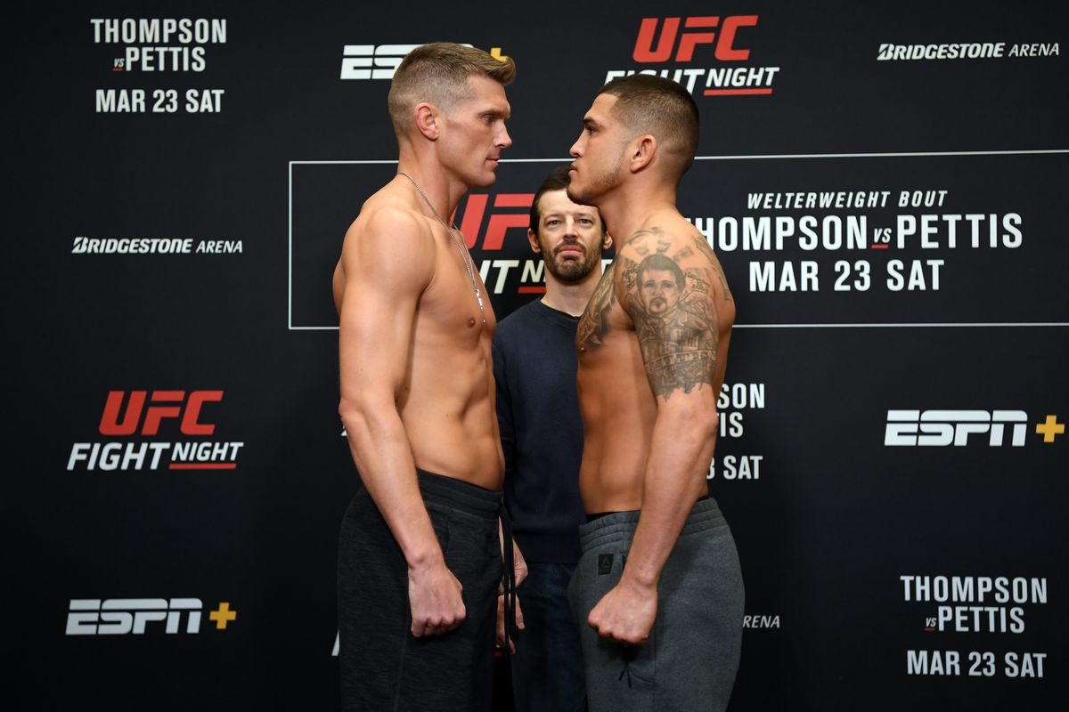 UFC Nashville Results: Thompson vs. Pettis