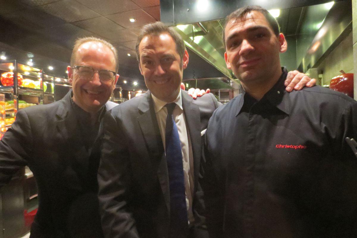 Juan Moll, Patrick Gioannini and Christophe Bellanca
