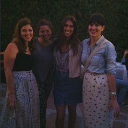 From left, Of A Kind's Erica Cerulo, Oyster.com's Robin Edlow, Extra's Brittany Weinstein and Beso.com's Elise Loehnen